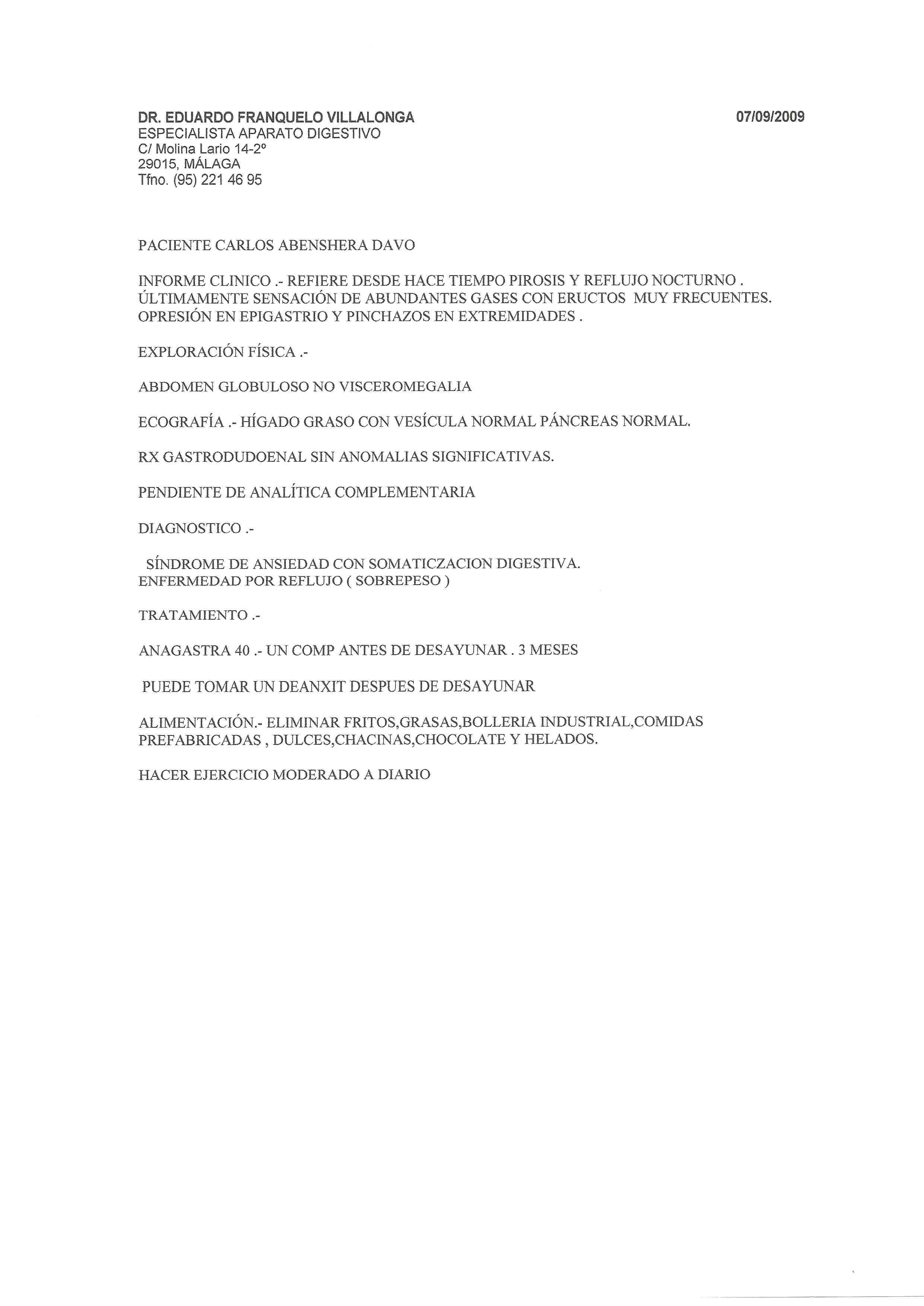 5 - 7 Septiembre 2009 - Digestivo 2