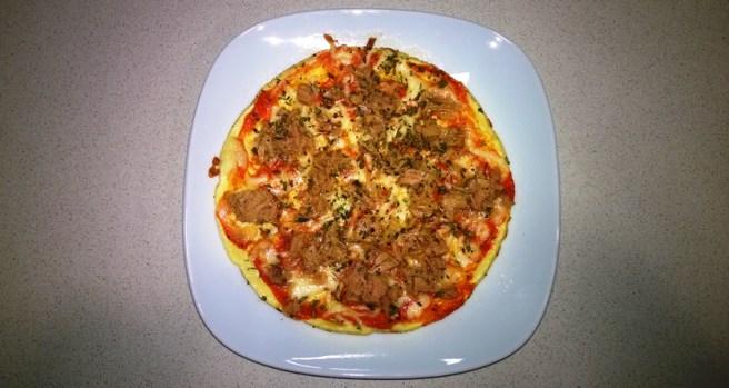 Falsa Pizza de Atún