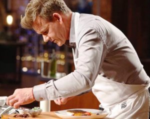 El famoso chef Gordon Ramsay