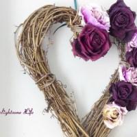 Rustic Valentine Wreath