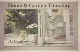 Home and Garden Thursday @ a Delightsome Life