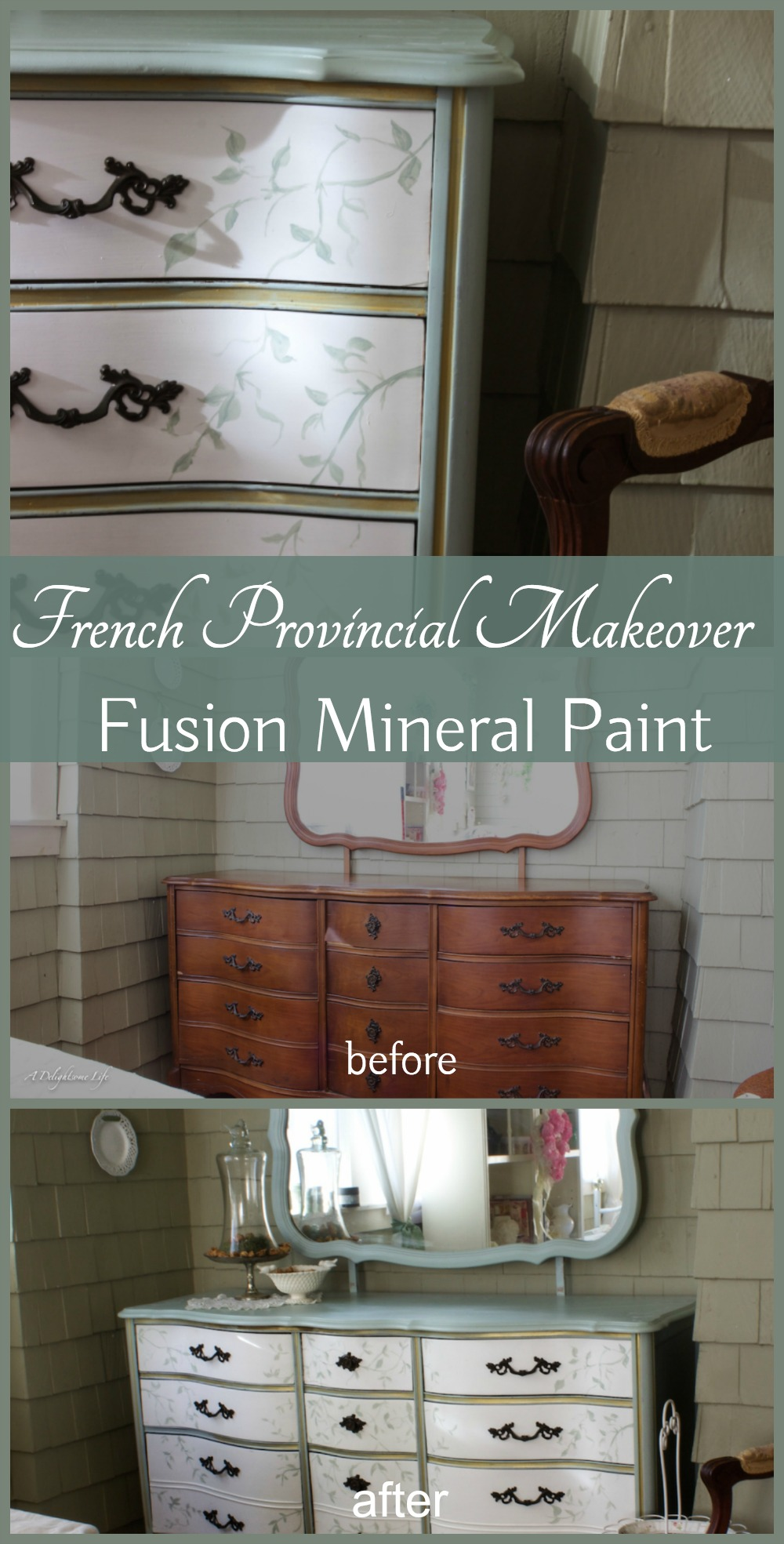 french country living room colors red leather sets creating provincial romance with fusion paint