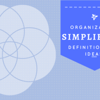Organizing Strategy - Simplify