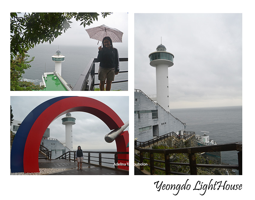 weekly photochallenge beneath your feetyeongdo light house
