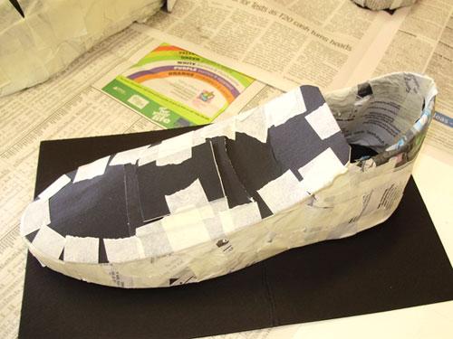 paper shoes? what if it rains?