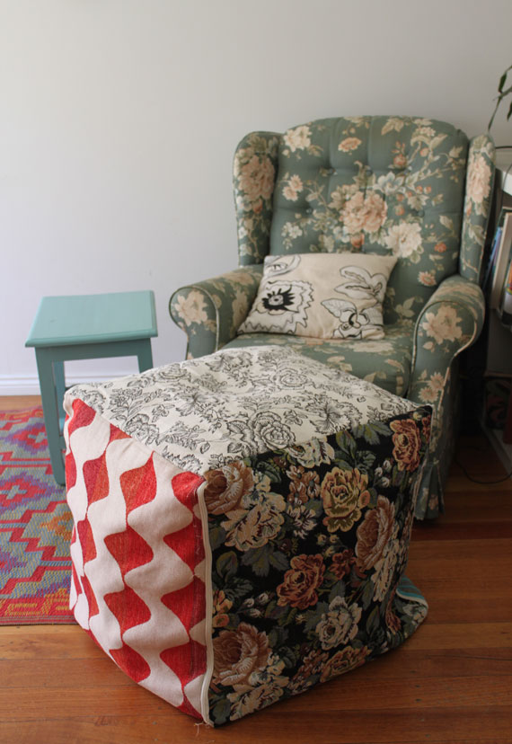 How to make a square Ottoman
