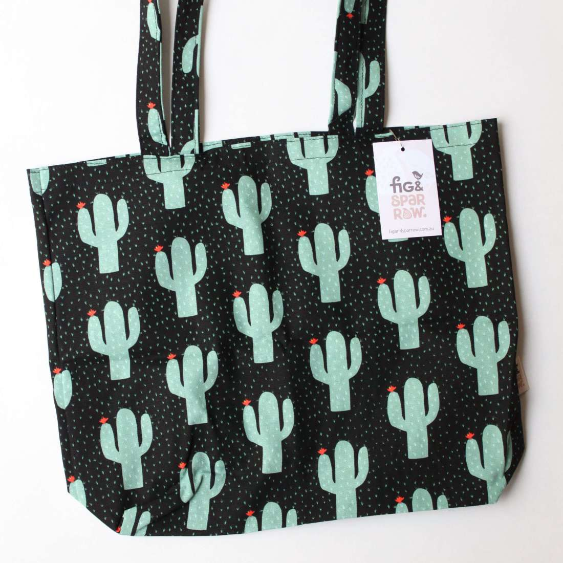 Fig & Sparrow - Cactus tote bag