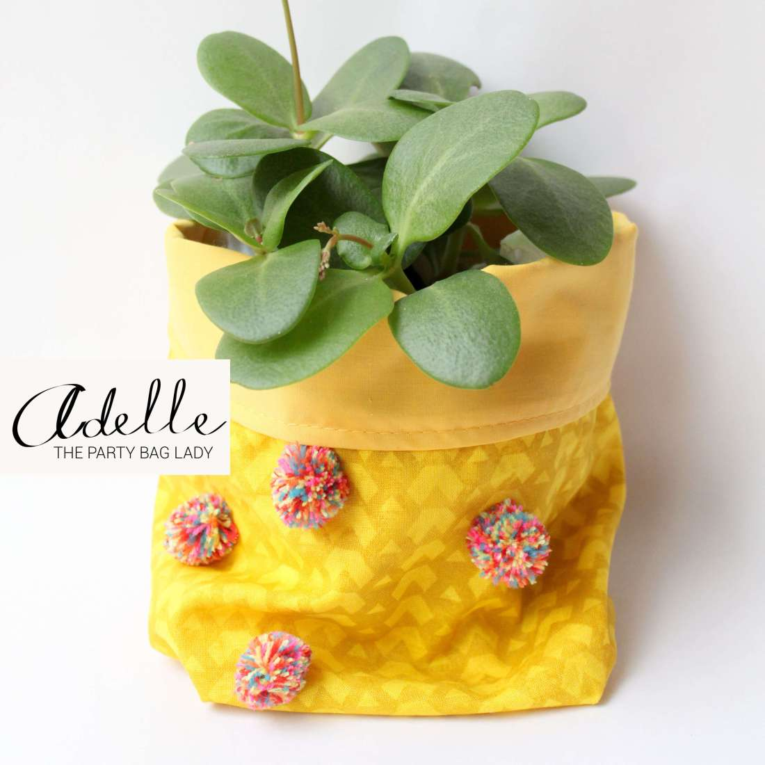 Party Bag Lady - Pot plant cover
