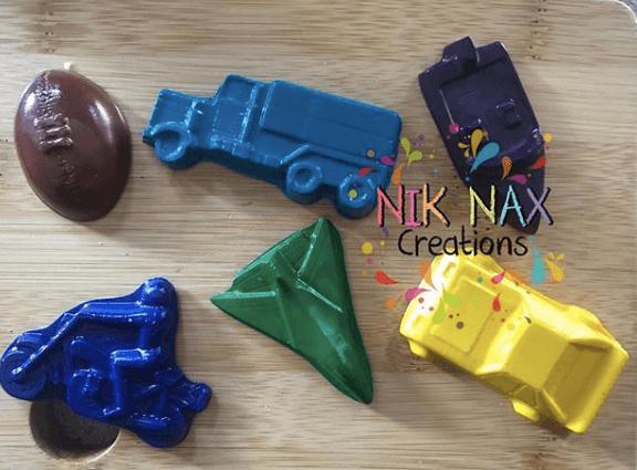 Nik Nax Creations Custom crayons