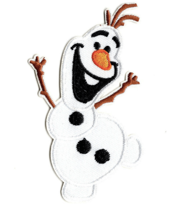 The Patch Kingdom Olaf Iron on Patch