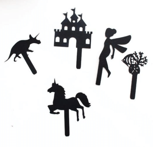 Cut out Shadow Puppets