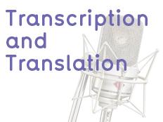 transcription and translation services