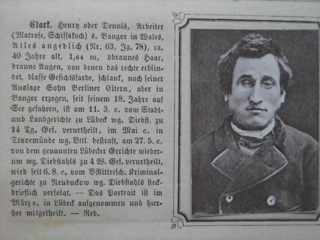Adelskarteide  Steckbriefe aus dem Deutschen Reich 1902