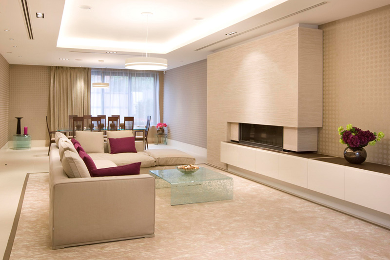 interior designer ideas for living rooms feature wall wallpaper room grange view, view road, highgate, london n6 « adelto