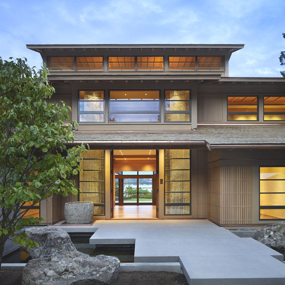 Contemporary Engawa House Seattle  Adelto Adelto