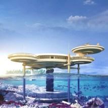 Luxury Underwater Water Disc Hotel Dubai Adelto