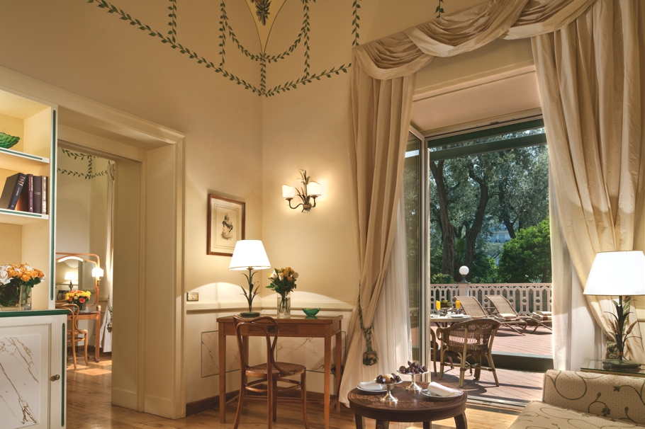 The charming Grand Hotel Excelsior Vittoria Sorrento Italy  Adelto Adelto