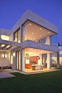 Modern Glass House Architecture Design