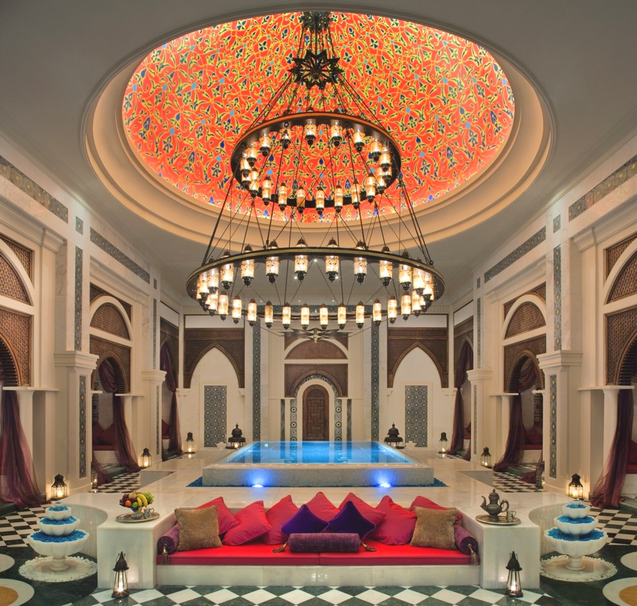 The luxurious Talise Ottoman Spa in Dubai adds romance to