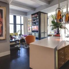 Pink Vanity Chair Latt Table And Chairs Jamie Drake's Trendy New York Apartment « Adelto