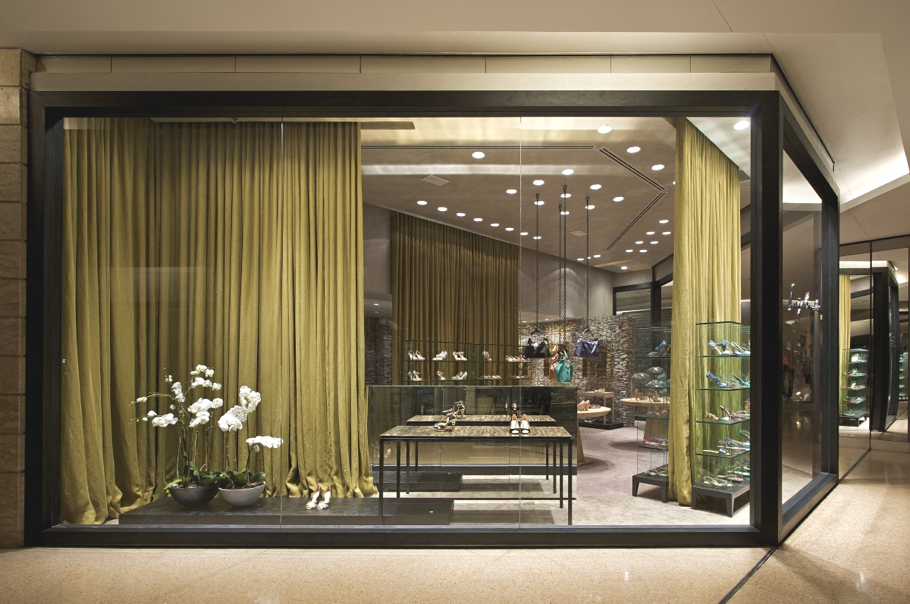 Luxury Shoe Store Design For Luiza Barcelos Brazil
