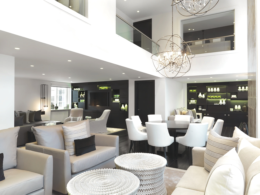Luxury Covent Garden apartment by Kelly Hoppen MBE