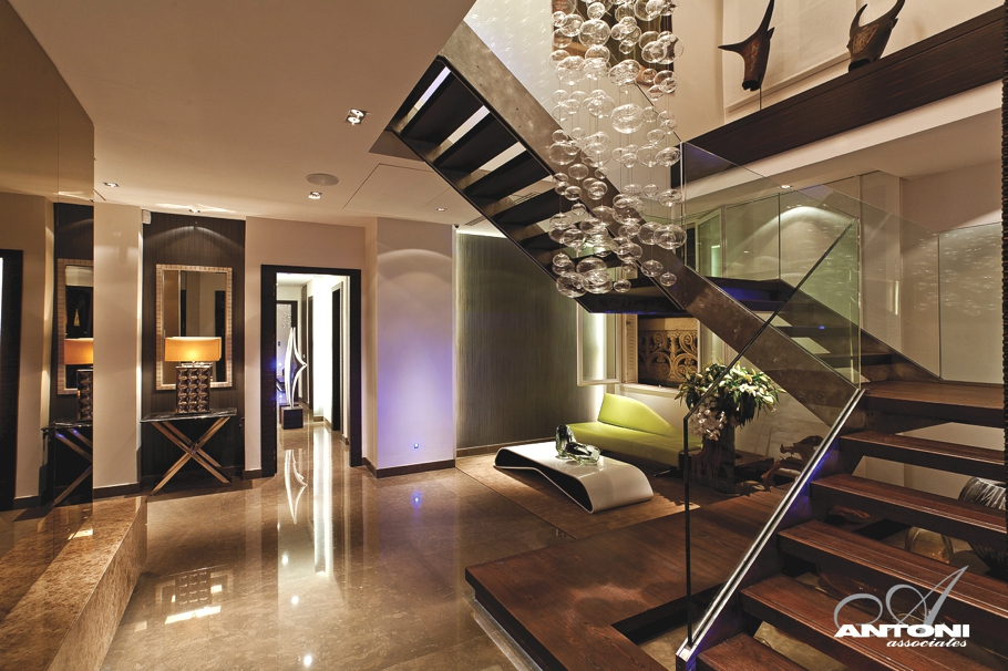 Magnificent Luxury Penthouse Apartment In Paris Adelto