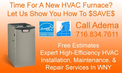 Residential Gas Furnace Sales & Service, Buffalo, NY