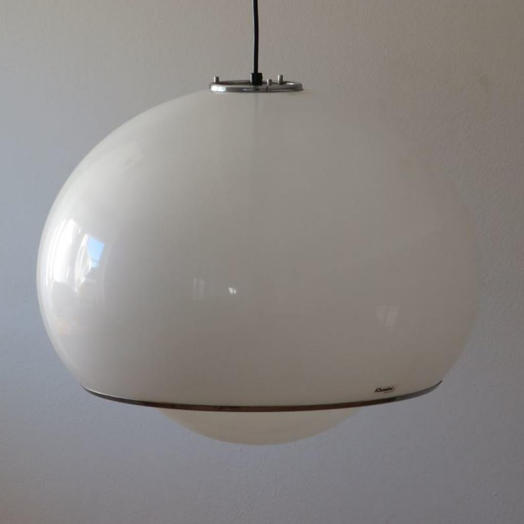 La lampada è in buone condizioni ma può mostrare lievi. Lampada Vintage Di Guzzini Italia Anni 60 Ademore