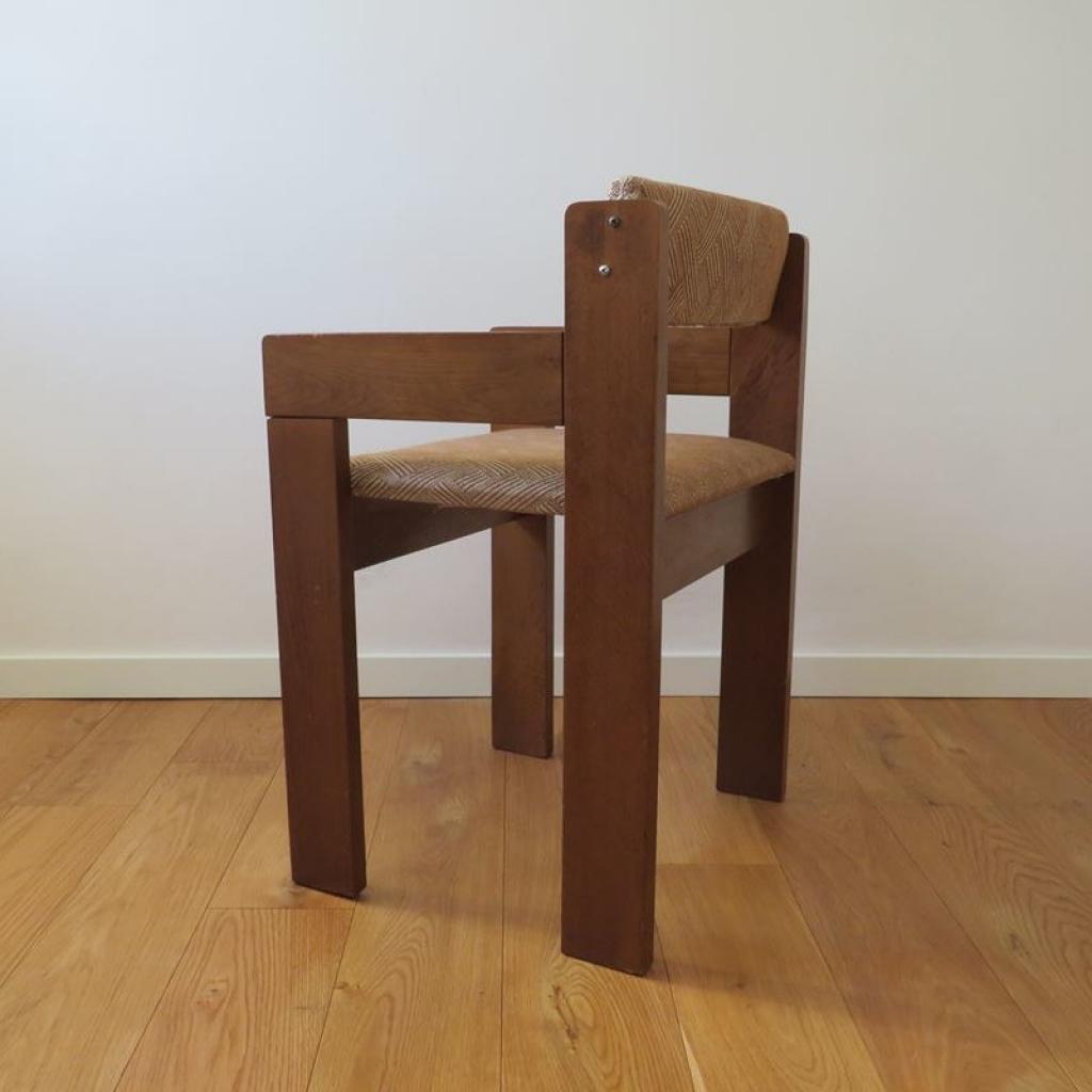 Altezza seduta 45cm, utilizzate in camera in. Sedia Vintage In Legno Italia Anni 60 Ademore