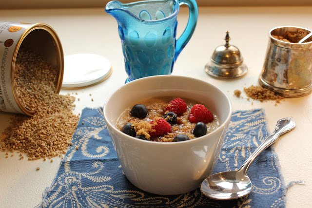 Goldilocks-Approved Porridge