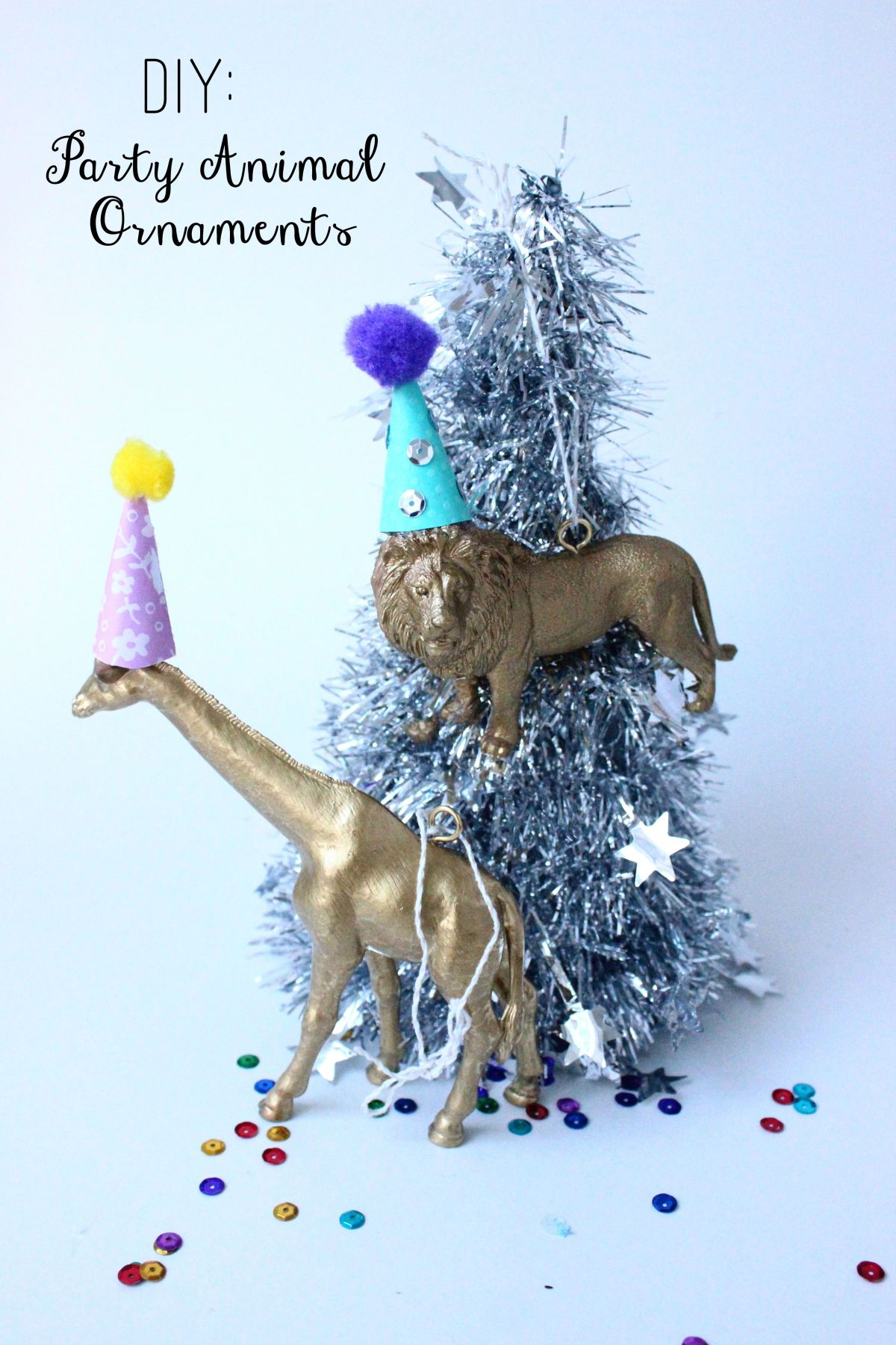 DIY: Party Animal Ornaments