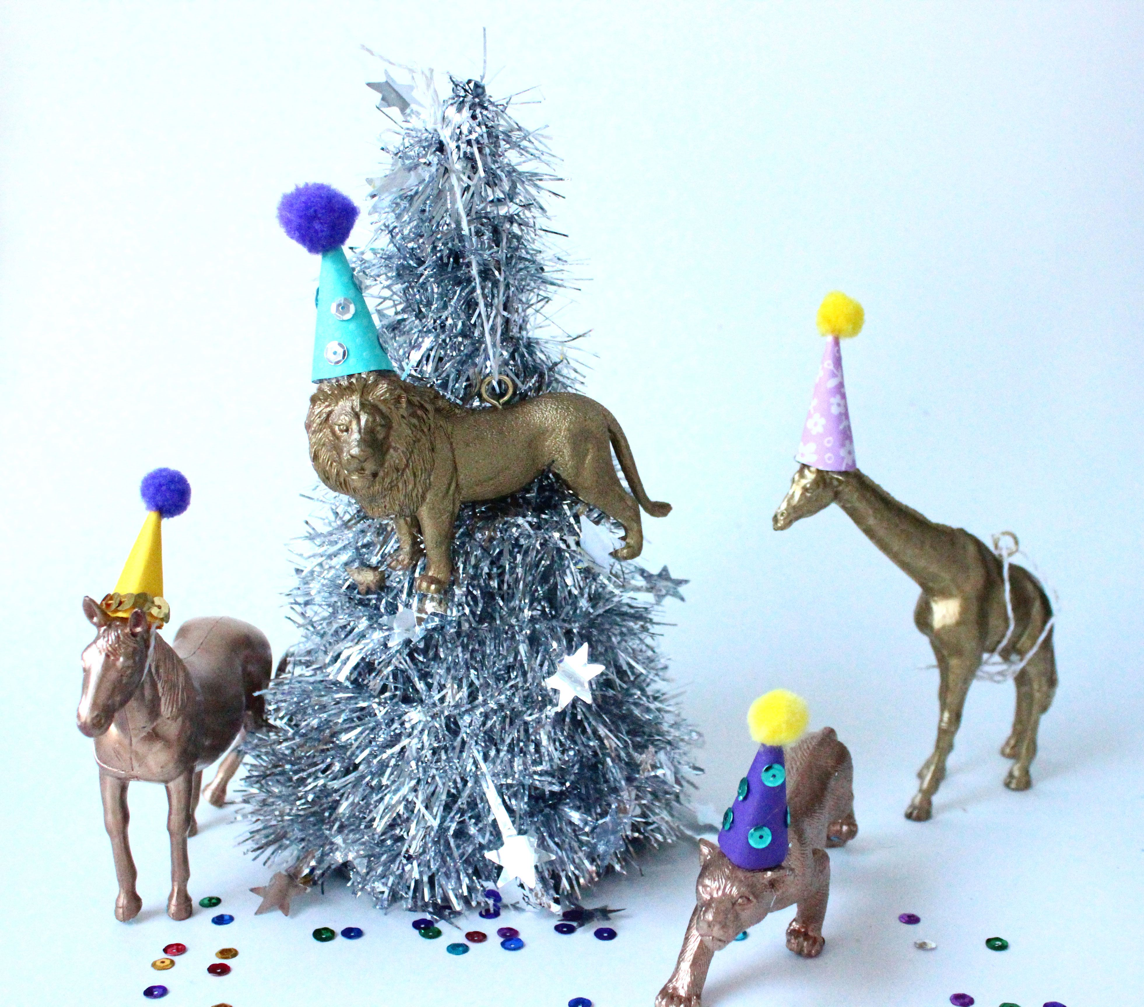 Animal ornaments - Forget Christmas Carolling These Party Animal Ornaments Are The Best And Cutest Way To Spread The Season S Cheer Whether You Adorn Your Tree With The