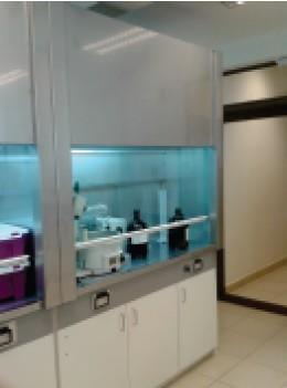 Campana extractora para laboratorio