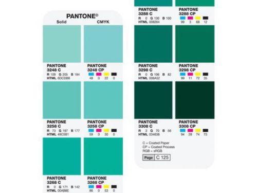 Cartilla de colores Pantone Serie Color Bridge
