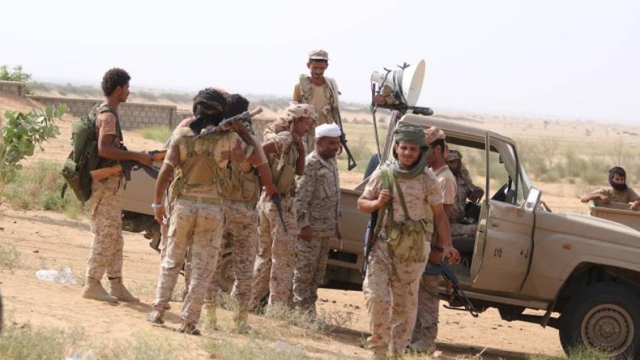 مسنودة بتحالف دعم الشرعية.. قوات الجيش الوطني تطلق عملية عسكرية واسعة لتحرير مديرية عبس في حجة