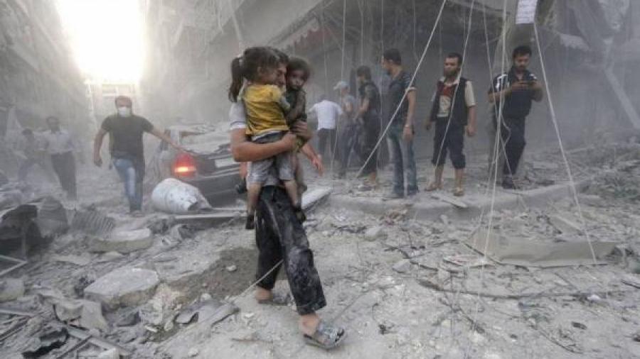 خلال أربع سنوات.. القوات الروسية الداعمة لنظام بشار تقتل أكثر من ثمانية ألاف مدني في سوريا
