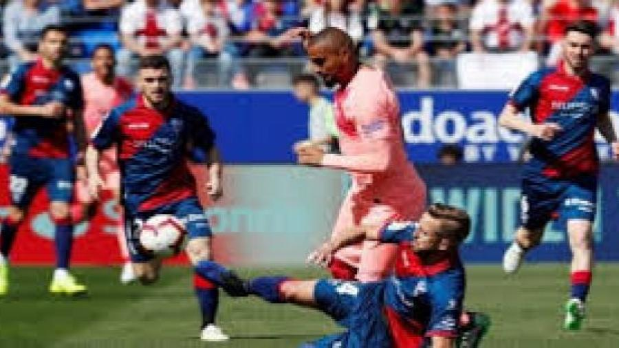 تعادل سلبي لبرشلونة ضد هويسكا في الدوري الأسباني