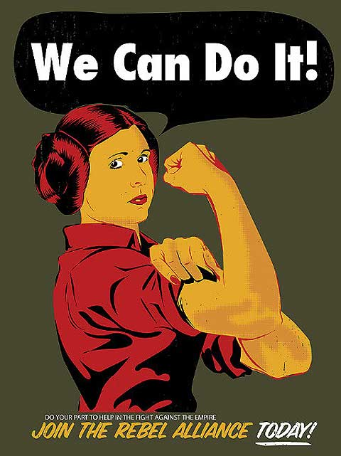 Leia the Rivetter