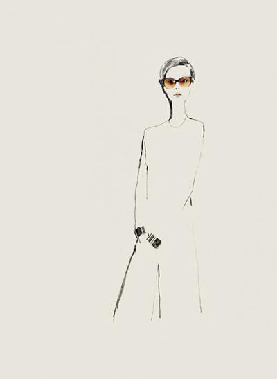 Fashion illustration // Bernadette Pascua