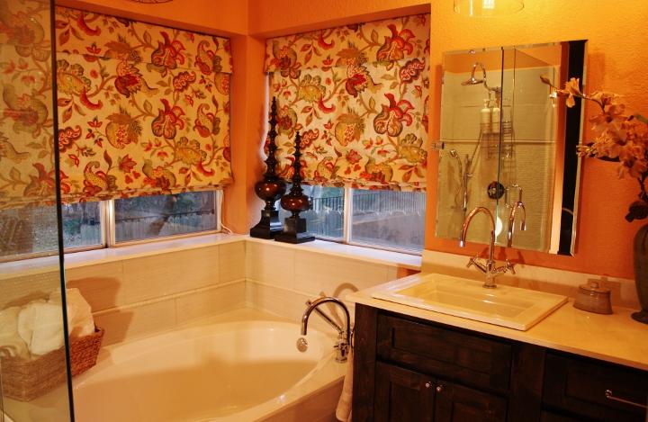 Charming Round Rock Bathroom Remodel