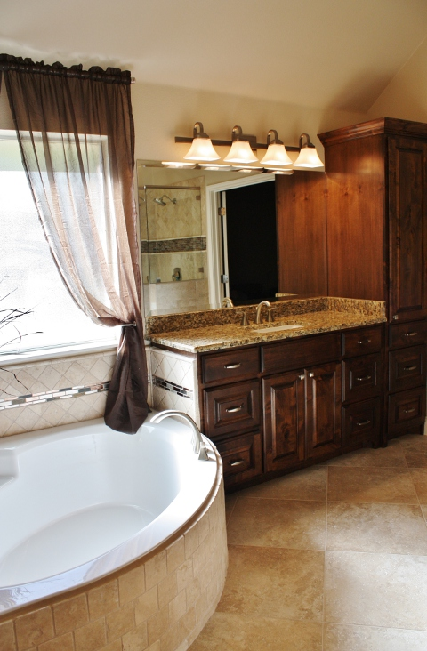 Round Rock Master Bathroom Remodel