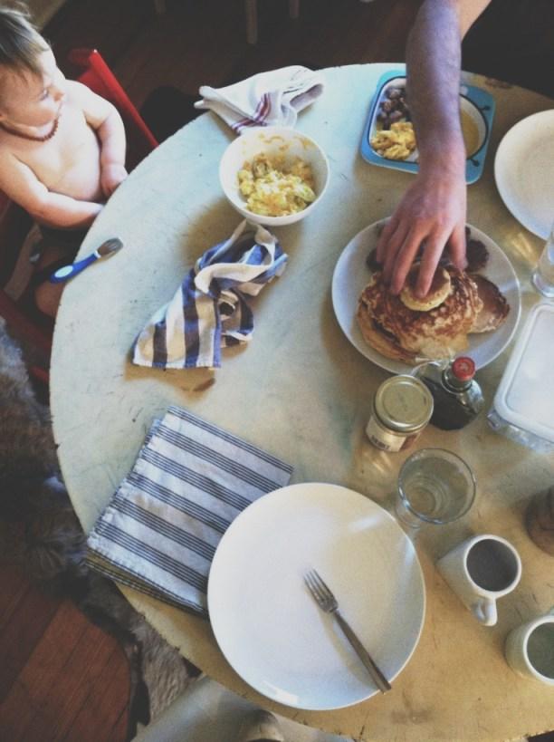 A Denver Home Companion | sunday morning breakfast
