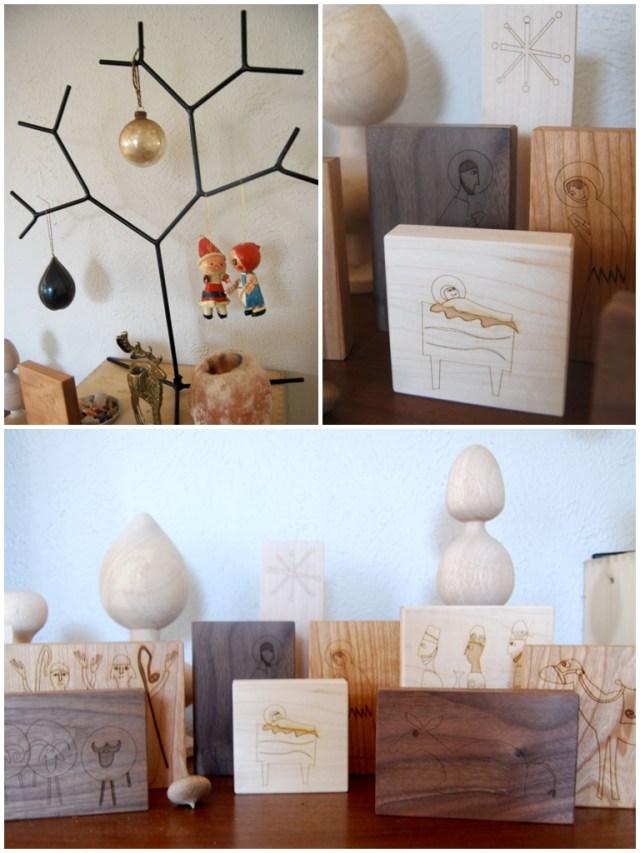 A Denver Home Companion | little sapling toys nativity scene