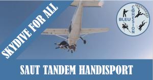 Saut Parachute en tandem Handisport @ Aéroport de Nevers Fourchambault | Marzy | Bourgogne-Franche-Comté | France