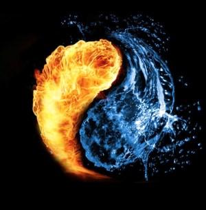 Imegen de agua y fuego