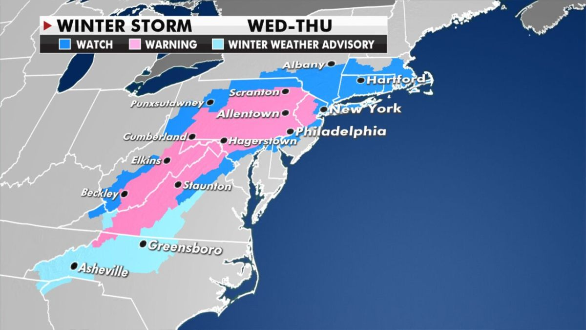 LIVE UPDATES: Nor'easter could be biggest East Coast storm in years