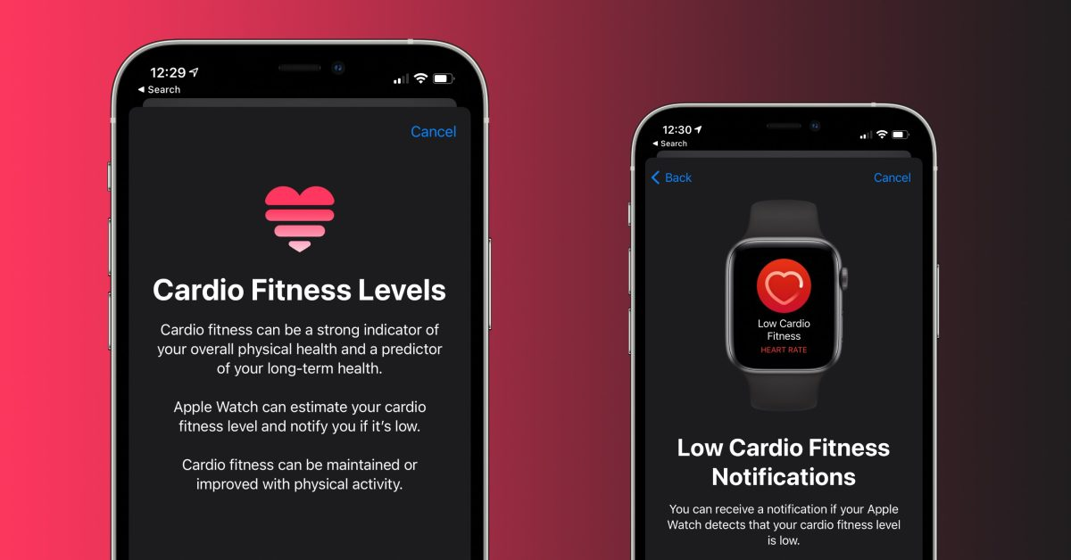 Here's how and why you should set up Cardio Fitness on iPhone and Apple Watch