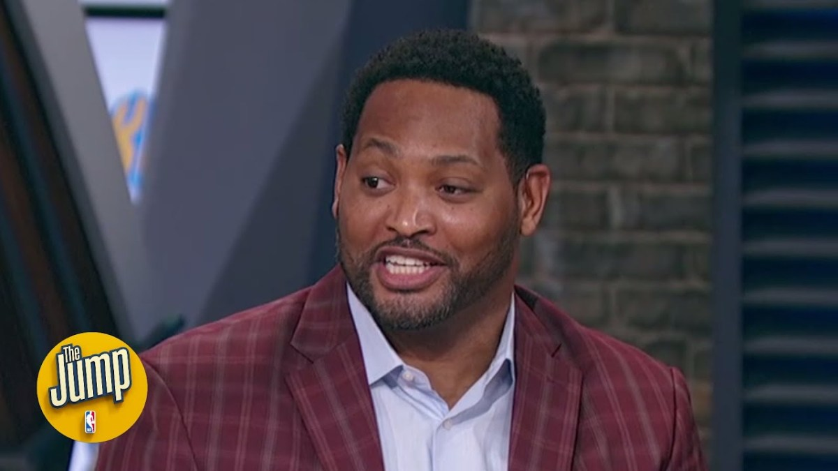 Robert Horry joins The Jump as a full-time panelist! (And reacts to James Harden getting fined)