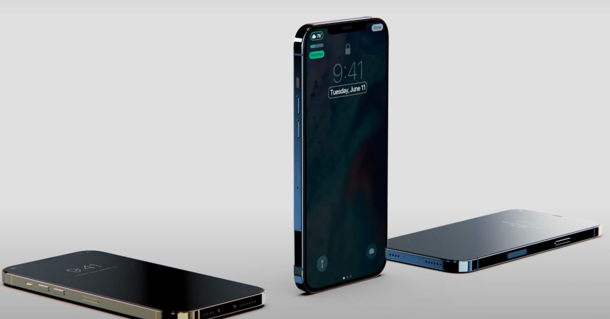 iPhone 13 rumored to feature 'refined matte back,' always-on display, more